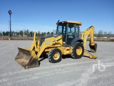 2001 JOHN DEERE 310SG 4x4 Loader Backhoe