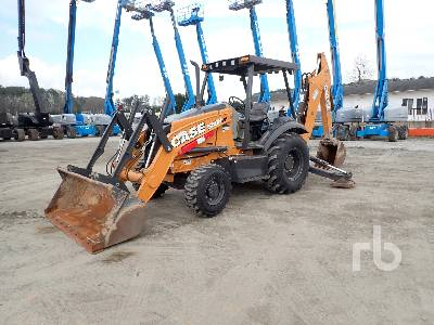 2017 CASE 580N 4x4 Loader Backhoe