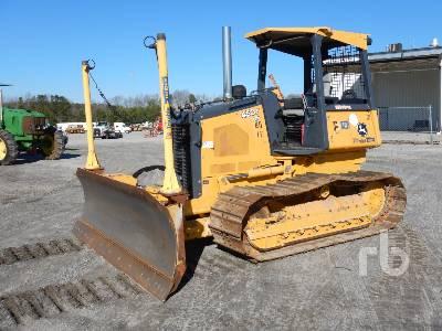 2015 JOHN DEERE 450J LGP Crawler Tractor