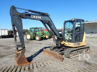 2014 JOHN DEERE 60G Midi Excavator (5 - 9.9 Tons)