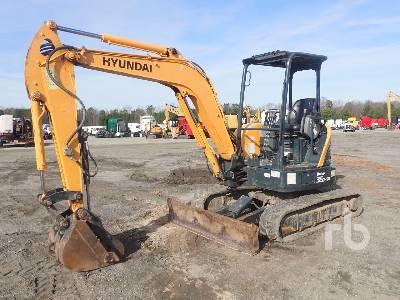2016 HYUNDAI R35Z-9A Mini Excavator (1 - 4.9 Tons)