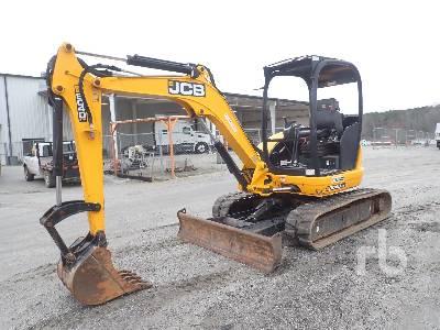 2015 JCB 8040ZTS Mini Excavator (1 - 4.9 Tons)