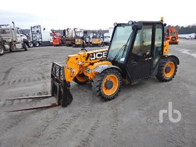 2014 JCB 525-60 5500 Lb 4x4x4 Telescopic Forklift