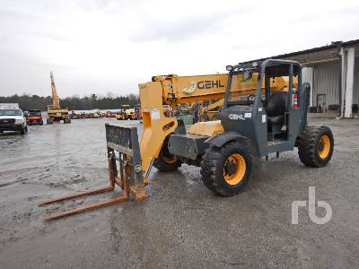 2014 GEHL RS634 6000 Lb 4x4x4 Telescopic Forklift