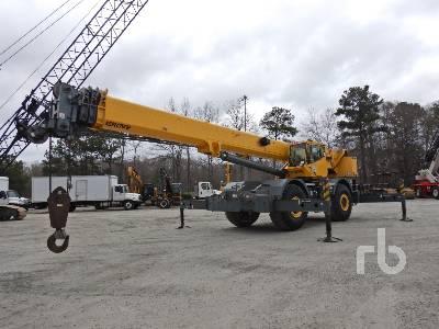 2004 GROVE RT875E 75 Ton Rough Terrain Crane