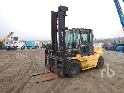 2015 HYUNDAI 70D-7A 15425 Lb Forklift