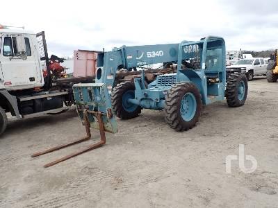 1999 GRADALL 534D642 6000 Lb 4x4 Telescopic Forklift