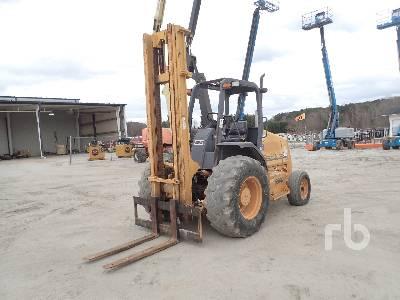 1999 CASE 580G 5000 Lb Rough Terrain Forklift
