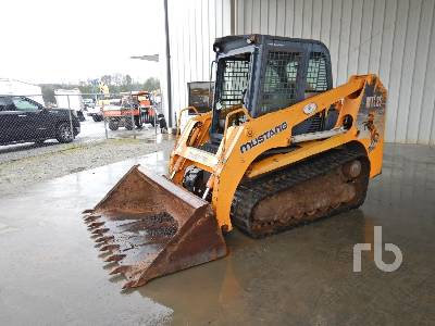 2004 MUSTANG MTL25 2 Spd INOPERABLE Compact Track Loader