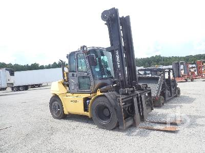 2016 HYUNDAI 80D-9 17500 Lb Forklift