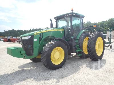 2014 JOHN DEERE 8270R MFWD Tractor