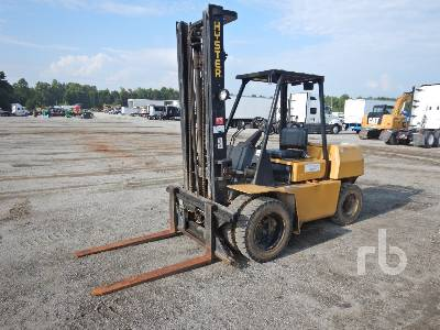 1995 HYSTER H80XL 8200 Lb Forklift