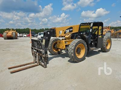 2013 CATERPILLAR TL642C 6500 Lb 4x4x4 Telescopic Forklift