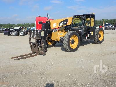2014 CATERPILLAR TL642C 4x4x4 Telescopic Forklift