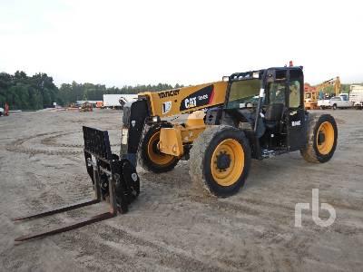 2015 CATERPILLAR TL642C 6500 Kg 4x4x4 Telescopic Forklift