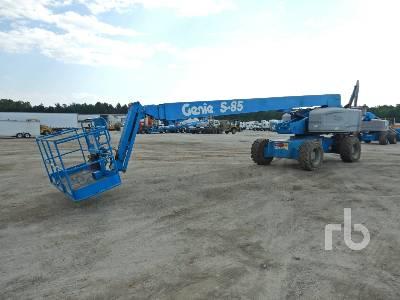 2013 GENIE S85 4x4 Boom Lift