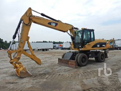 2009 CATERPILLAR M318D 4x4 Mobile Excavator