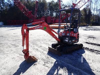 2015 KUBOTA U17 Mini Excavator (1 - 4.9 Tons)