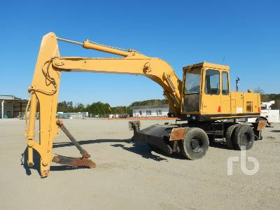 1993 CATERPILLAR 214B/FT 4x4 Mobile Excavator