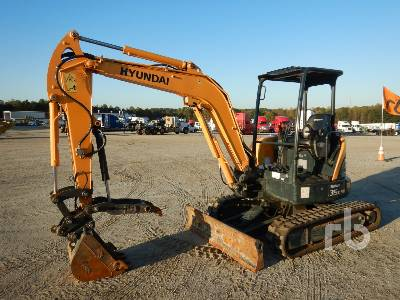 2018 HYUNDAI ROBEX 35Z-9A Mini Excavator (1 - 4.9 Tons)