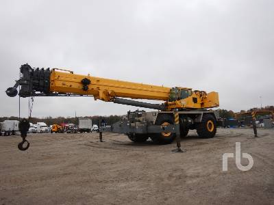 2007 GROVE RT9130E 130 Ton 4x4x4 Rough Terrain Crane