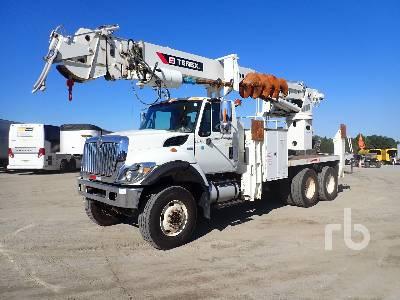 2014 INTERNATIONAL 7400 6x6 w/Telelect General Digger Derrick Truck