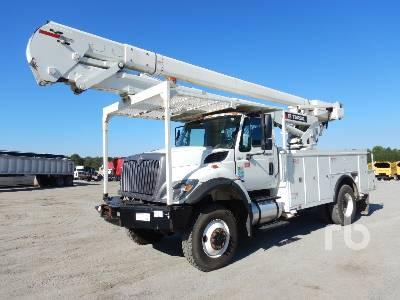 2014 INTERNATIONAL 7300 4x4 w/Terex Hi-Ranger 5TC-55 Bucket Truck