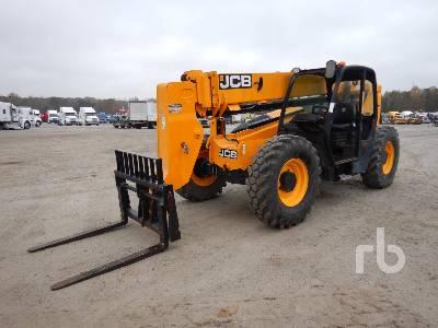 2012 JCB 507-42 7000 Lb 4x4x4 Telescopic Forklift