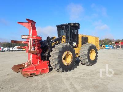 2015 CATERPILLAR 553C Rubber-Tired Feller Buncher