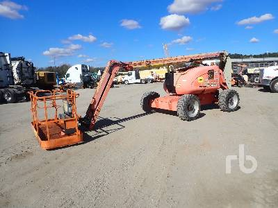 2010 JLG 600AJ 4x4 Articulated Boom Lift