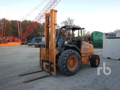 2014 CASE 586H 6000 Lb INOPERABLE Rough Terrain Forklift
