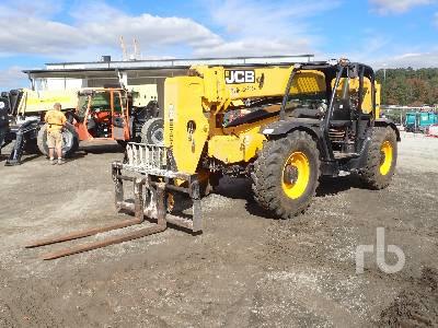 2014 JCB 50942 9000 Lb 4x4x4 Telescopic Forklift