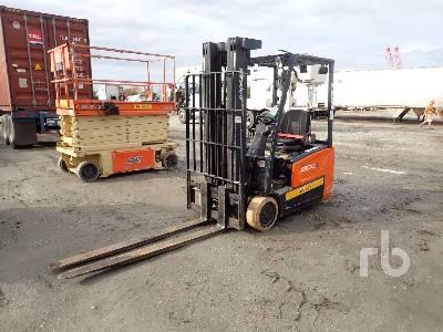 2017 DOOSAN B20T7 3550 Lb Electric Forklift