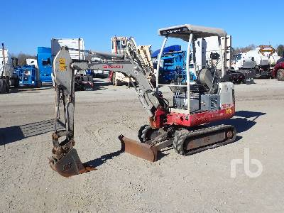 2014 TAKEUCHI TB016 Mini Excavator (1 - 4.9 Tons)
