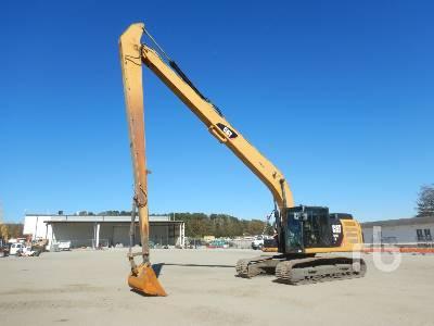 2014 CATERPILLAR 324EL Long Reach Hydraulic Excavator