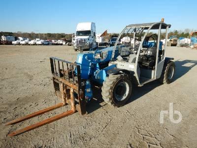 2013 GENIE GTH5519 5500 Lb 4x4x4 Telescopic Forklift