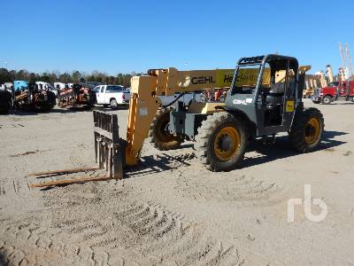 2015 GEHL RS642 6600 Lb 4x4 Articulated Telescopic Forklift