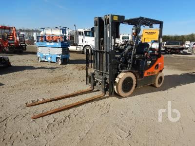 2014 DOOSAN G25EDF 3650 Lb Forklift