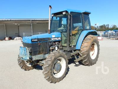 1996 NEW HOLLAND 7740 MFWD Tractor