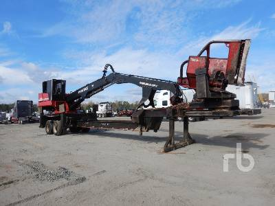 2012 PRENTICE 2384B-TMS T/A Trailer Mounted Log Loader