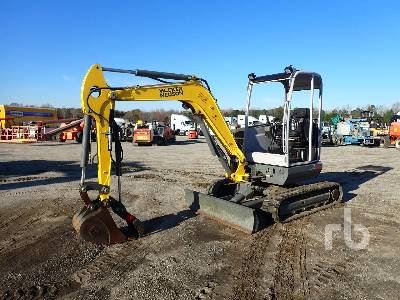 2015 WACKER NEUSON EZ38 Mini Excavator (1 - 4.9 Tons)