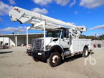 2014 INTERNATIONAL 7300 4x4 w/Telelect Hi-Ranger 5TC-55 Bucket Truck