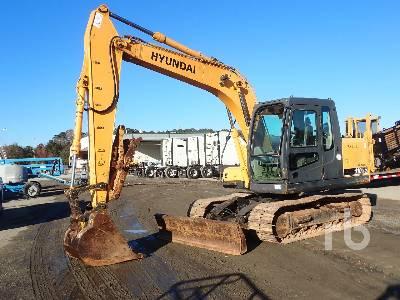 2008 HYUNDAI ROBEX 110D-7 Hydraulic Excavator