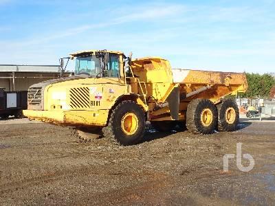 2005 VOLVO A25D 6x6 Articulated Dump Truck