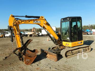 JCB 55Z-1 Mini Excavator (1 - 4.9 Tons)