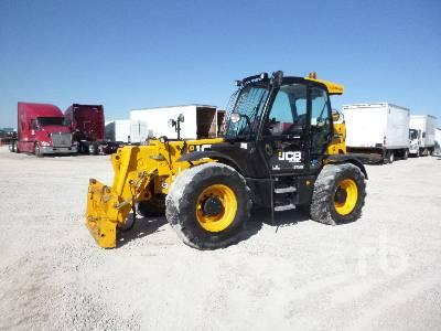 JCB 560-80 5000 Lb 4x4x4 Telescopic Forklift