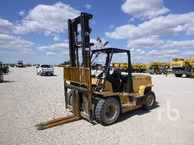 1990 HYSTER H135XL 14800 Lb Forklift