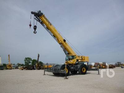 GROVE RT760E 60 Ton 4x4x4 Rough Terrain Crane