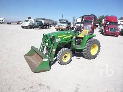 JOHN DEERE 3038E 4WD Utility Tractor