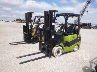 CLARK C25CL 4500 Lb Forklift